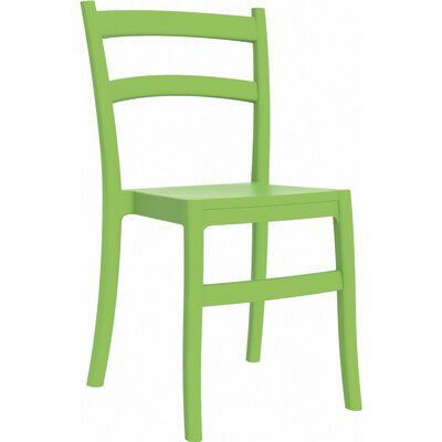 Tiffany Patio Dining Chair (Set of 2) Finish: Tropical Green