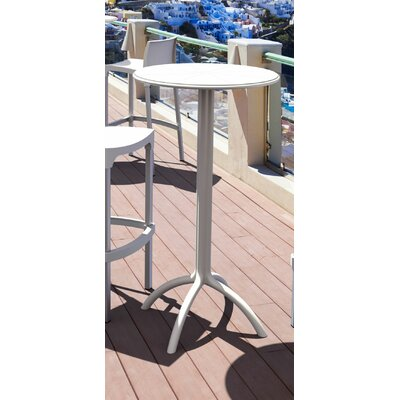 Octopus Bar Table Finish: White