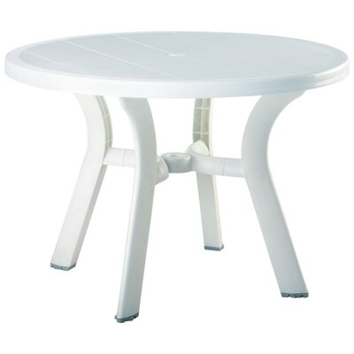 Compamia Truva Resin Round Dining Table - Color: White at Sears.com