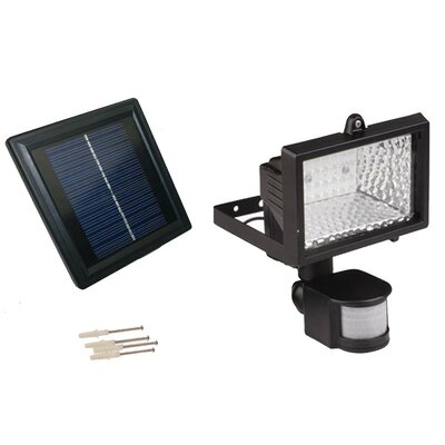Goes Green Network Solar Powered Motion 28 LED Security Flood Light