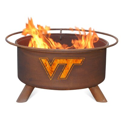 Patina Products Collegiate Fire Pit - Team: Virginia Tech