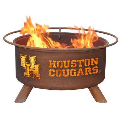 Patina Products Collegiate Fire Pit - Team: Houston