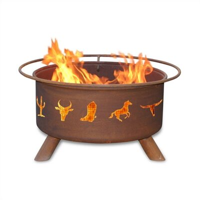 Patina Products Western Cowboy Fire Pit at Sears.com