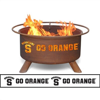 Patina Products Collegiate Fire Pit - Team: Syracuse University at Sears.com