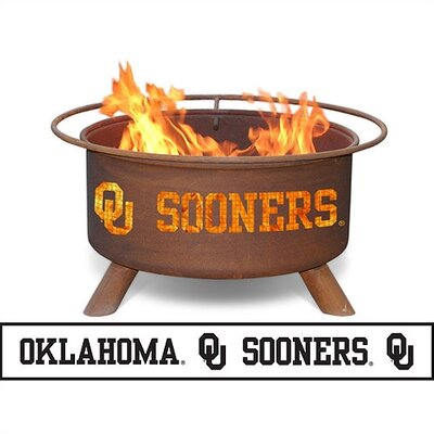 Patina Products Collegiate Fire Pit - Team: University of Oklahoma at Sears.com