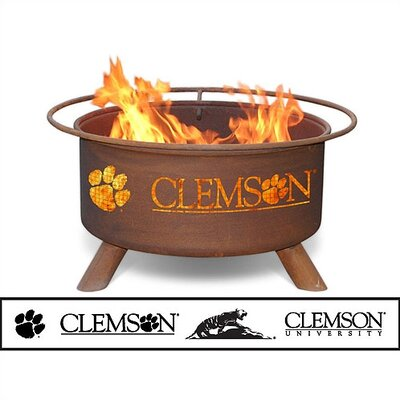 Patina Products Collegiate Fire Pit - Team: Clemson University at Sears.com