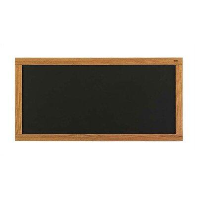 Marsh Plas-Cork Bulletin Boards - Oak Frame - Plas-Cork Color: Gray, Size: 4' x 12'