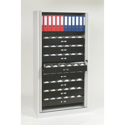 Bisley 1 Door Storage Cabinet Color: Light Gray Product Image 2577