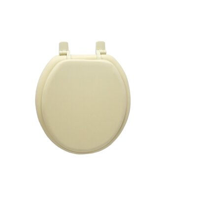 Solid Soft Round Toilet Seat Finish: Bone