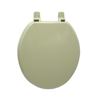 Molded Wood Round Toilet Seat Finish: Lite Olive