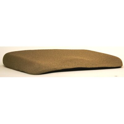 Memory Foam Cushion Finish: Cappuccino