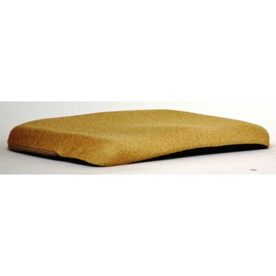Memory Foam Cushion Finish: Pebble