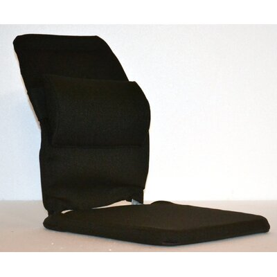 Bucket Seat Back Cushion with Adjustable Lumbar Finish: Black