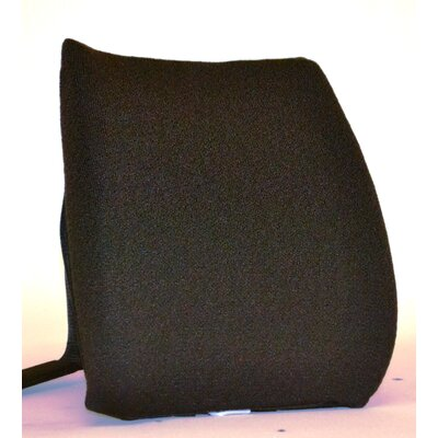 Memory Foam Back Cushion with Adjustable Belt Finish: Chocolate