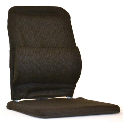 Bucket Seat Back Cushion with Adjustable Lumbar Finish: Brown