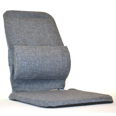 Bucket Seat Back Cushion with Adjustable Lumbar Finish: Grey