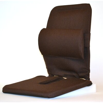 Bucket Seat Back Cushion Finish: Brown
