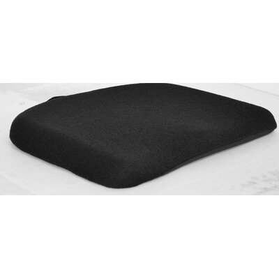 Memory Foam Molded Seat Finish: Black