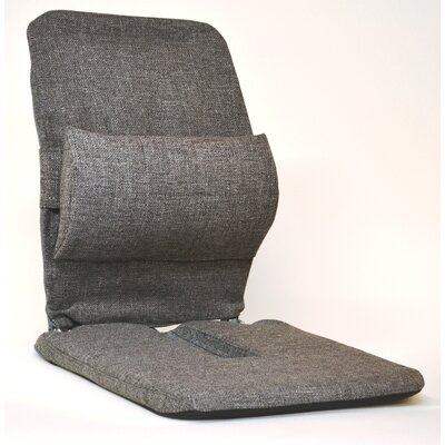 Bucket Seat Back Cushion Finish: Grey