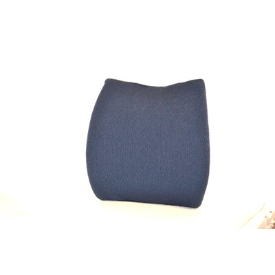 Memory Foam Back Cushion with Adjustable Belt Finish: Blue