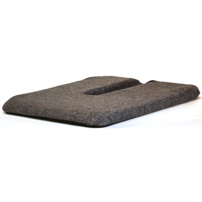 Car Seat Cushion Color: Grey