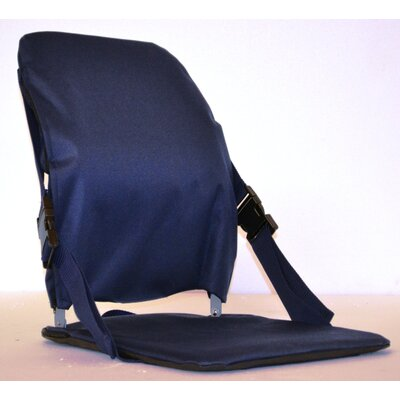 Sports Portable Stadium Seat Color: Blue