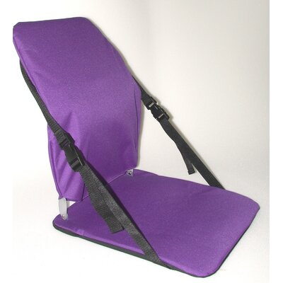 Sports Portable Stadium Seat Color: Purple