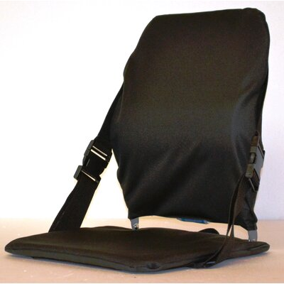 Sports Portable Stadium Seat Color: Black