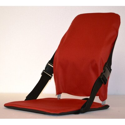 Sports Portable Stadium Seat Color: Red
