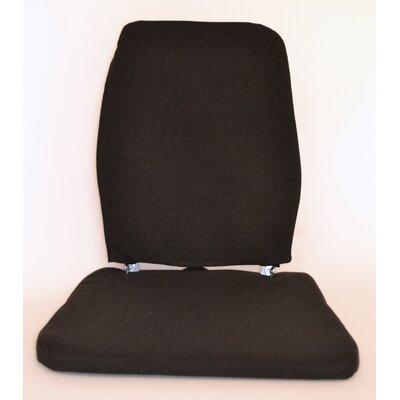 Trimet CF Memory Foam Back Cushion Color: Black