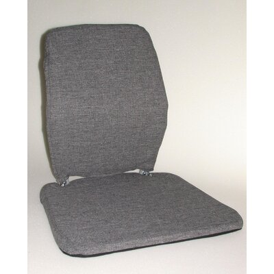 Trimet CF Memory Foam Back Cushion Color: Grey