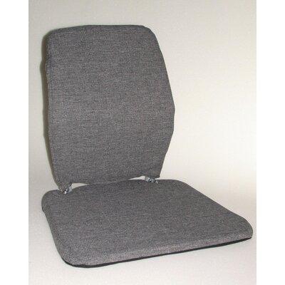 Trimet CF Memory Foam Back Cushion Color: Grey