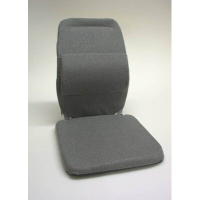 Bucket Seat Back Cushion with Adjustable Lumbar Finish: Charcoal
