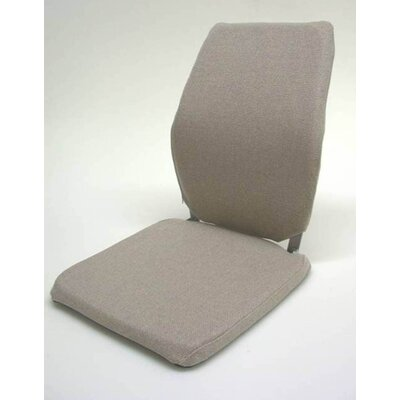 Deluxe Seat and Back Cushion Finish: Light Brown, Size: 19