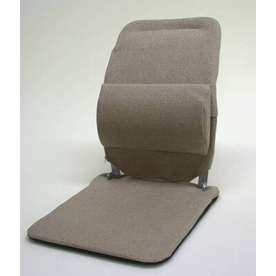Seat Back Cushion with Adjustable Lumbar Support Finish: Light Brown