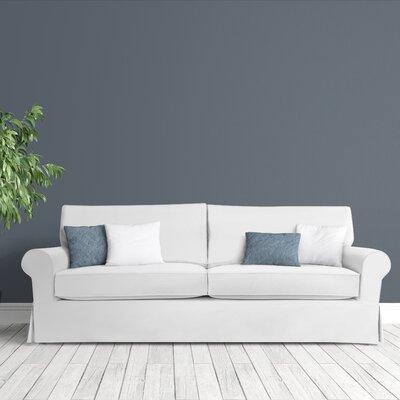Sandy Slipcovered Sofa Upholstery: White