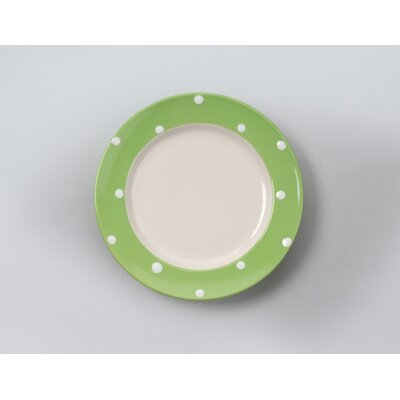 Dots Turquoise 8 Salad Plate (set Of 4)