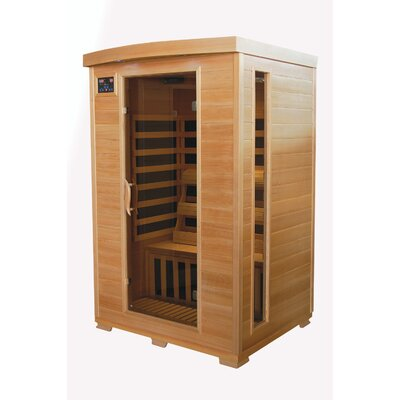 TheraPure 2 Person TheraPure Infrared Sauna Carbon Fiber Heat at Sears.com