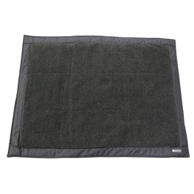 Outdoors Travel Dog Bed Color: Charcoal with Charcoal