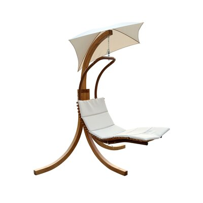 Trustworthy Hanging Chaise Lounger Stand Polyester - Product picture - 546