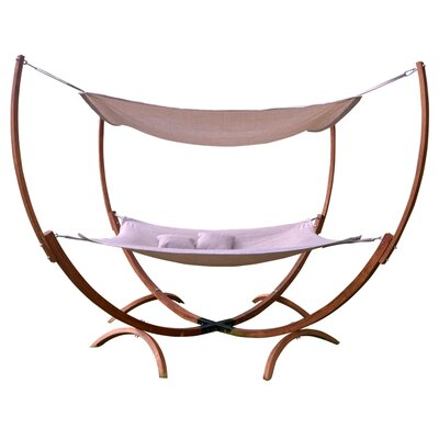 Irby PVC-coated polyester Hammock with Stand