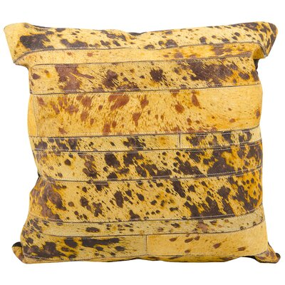 Fiorella Throw Pillow Color: Light Orange