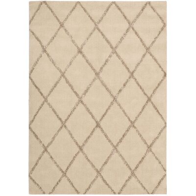 Rochon Sand Area Rug Rug Size: Rectangle 36 x 56