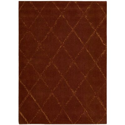 Rochon Brown Area Rug Rug Size: Rectangle 36 x 56