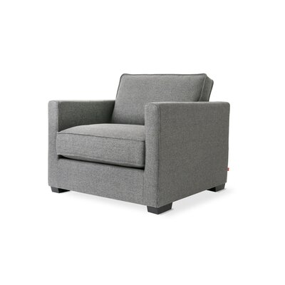 Richmond Armchair Color: Varsity Charcoal