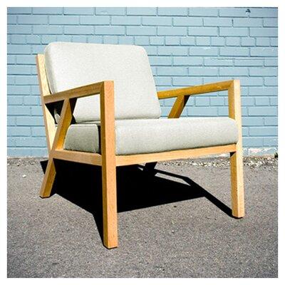 Truss Armchair Upholstery: Cabana Husk