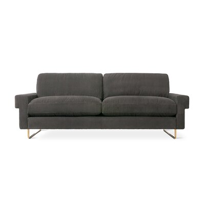Garrison Sofa with Cushions Upholstery: Baffin Moss
