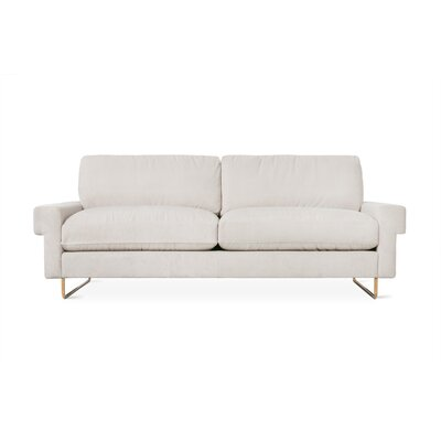 Garrison Sofa with Cushions Upholstery: Baffin Oyster