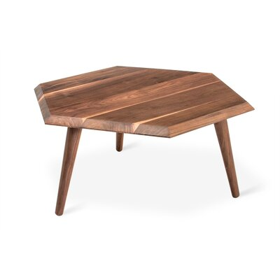 Metric Coffee Table Color: Walnut