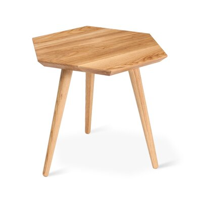 Metric End Table Color: Ash Natural
